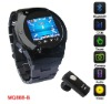 Quad Band Stainless Steel Watch Phone