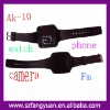 Quad band AK-10 wrist watch mobile