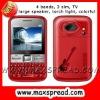 Quad band Mobile Phone 3 sim Q5