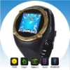 Quad-band Touch watch phone,with camera, takes photo,Viedo record and Sound record,FM radio function (Q998)