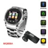 Quad-band stainless steel watch mobile phone MQ666A
