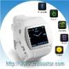 Quad-band wrist watch phone,1.5 inch touch watchphone (Bluetooth,MP3,MP4,FM) (Q007)