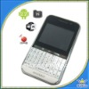 Quadband White Android Phone with wifi
