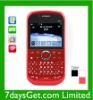 Qwerty Cell Phone Four SIM Card + WIFI Full Keyboard Mobile Phone