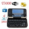 Qwerty Java TV WiFi Rotate Flip T3000 Cell Phones