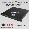 Real Time Multichannel MPEG-2 to H.264 Transcoder-DVB-S/S2 to IP
