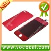 Red LCD Digitizer Assembly for iPhone 4S 4GS