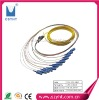 Ribbon optical fiber pigtail with 12cores and OEM service