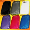 S Tpu silicone Gel Skin Case For Blackberry 9570 9850 9860 Storm3 Monaco