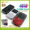 S3 4 sim card phone