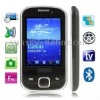 S5670 Black, Analog TV (PAL/NTSC), Bluetooth FM function Touch Screen Mobile Phone, Dual band, Network: GSM 900 / 1800MHZ