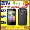 """S720 Android 4.0"""" big touch screen phone, android 3g smartphone with WiFi, GPS, 4G+4Gbit, WCDMA/GSM dual mode dual standby."""