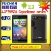 "S820 Android cellphone with dual camera, support WiFi, GPS,4.3"" WVGA Cap. LCD, dual sim card, available for vedio call."