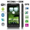 S820 Black, GPS + Android 2.3 Version, Wifi Bluetooth FM function Capacitive Touch Screen Mobile Phone, Dual Sim cards Dual stan