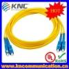 SC-SC Duplex SM Fiber Optic Patch Cord