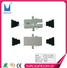 SC-SC fiber optical adapter/optic fiber adapter with High RL, Low IL and manufacturer