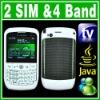 SIM Dual Standby 2 Camera Java TV Mobile Phone