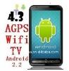 SIM/wifi/FM/GSM/TV/GPS android phone dual sim