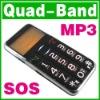 SOS Big Button Quad Band Mobile Old Senior Elderly Kid