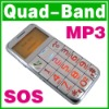 SOS Big Button Quad Band Mobile Old Senior Elderly Kid Mobile Phone