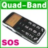 SOS Big Button Quad band Mobile Old Senior Elderly Kid Cell phone