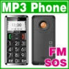 SOS Big Button Quad band Mobile Old Senior Elderly MP3 Cell Phone