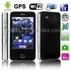 STAR A3000 + GPS, Android 2.2 Version, TV (SECAM/PAL/NTSC), Wifi Bluetooth FM function Touch Mobile Phone, Dual Sim cards Dual s