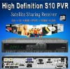 Sale high definition receiver Openbox S10 HD PVR digital satellite receiver hdmi Sharing used for North American