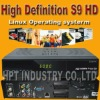 Sale high definition receiver openbox s9 used for southeast Asia