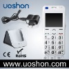 Senior Cell phone with big keypad/ SOS Button S820-W