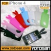 Silicone game case for iphone 4 silicon case skin