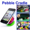 Smart Pebble Stand Holder - Colorful Universal Silicone Cradle