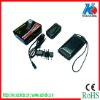 Solar pocket charger for mobile phone with torch
