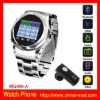 Stainless Steel Watch Phone Support TF Card