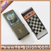 Stainless steel housing 2 sim cards phone with TV luxury cellphone