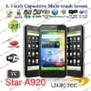 Star A920 capacitive screen MTK6573 WCDMA+GSM android smart phone