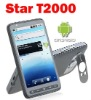 Star T2000 GPS Android 2.2 WiFi Java TV CECT cell phone Black
