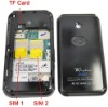 T dual sim wifi cell phone,analog TV,Quad band,JAVA,MAN,E-mail