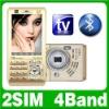 T1000 Dual Sim TV Mobile Phone Quad Band Unlocked