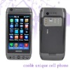 T5000 3.6 Inch Touch Screen+Qwerty Keyboard Wifi Tv Java Cell Phone