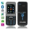 T6 Black, Russian Keyboard, Big Speaker, Bluetooth FM function Mobile Phone, Dual Sim cards Dual standby, Dual band, Network: GS