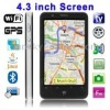 T8300 White, GPS Navigator, Analog TV (PAL/NTSC/SECAM), Wifi JAVA Bluetooth FM function Touch Screen Mobile Phone with Battery B