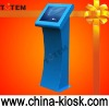 TFT LCD touch screen information and queuing kiosk