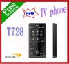 TV mobile phone T728 Free ship