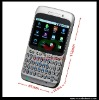 The First One Qwerty Keyboard Google Android 2.2 mobile phone Unlocked Dual Sim Card WIFI TV GPS smartphone A8