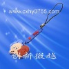 The witch cartoon shape mobilephone strap