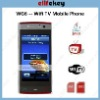 Tiger WG6 GSM Quad band Dual Sim WIFI JAVA TV New Mobile Phone