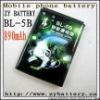Top quality recharger BL-5B cell mobile battery