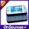 Touch Screen 3G Smart Phone Cellphone with WiFi + GPS + SideSlip QWERTY Keyboard -6800