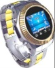 Touchscreen ,Quad-band watch mobile phone with camera ,bluetooth